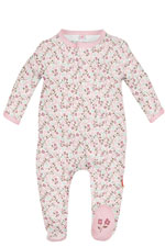 Magnificent Baby Bedford Floral Baby Girl Footie (Bedford Floral Print) by Magnificent Baby