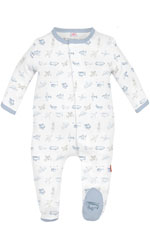 Magnificent Baby Airplanes Baby Boy Footie (Airplanes) by Magnificent Baby