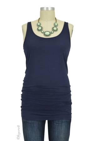 Must-Have Long Maternity Tank (Navy) by Noppies