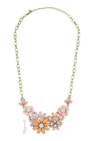 Pastel Flower Necklace (Pastel) by Jewelry Accessories