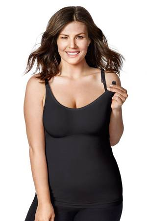 Bravado Body Silk Seamless Nursing Cami (Black) by Bravado