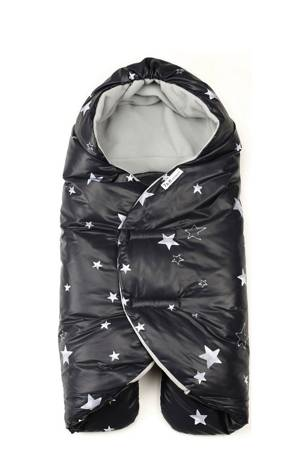 7 am Enfant Nido Quilted Cover - Large - Special Collection (Black Stars) by 7 A.M. Enfant