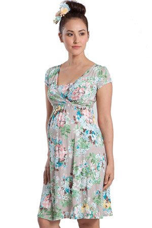 Le Jardin Nursing Dress by Mothers en Vogue