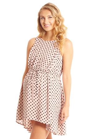 a3d1a4ce703e ... Gift Bag (Azure Mist).  98.00  82.00. Crystal Woven Maternity   Nursing  Dress (Blush Dot) by Everly Grey