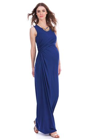 2602f13b82b4 Seraphine Lexington Maxi Maternity   Nursing Dress (Ink) by Seraphine