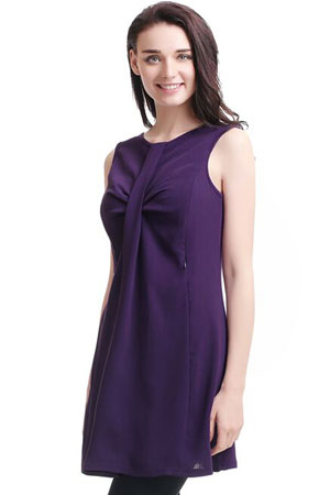 Ester Shift Maternity & Nursing Tunic by Kimi & Kai Maternity