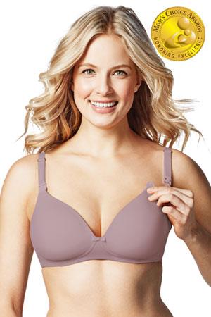 5054ef3332 Bravado Designs Buttercup Wireless Wirefree Maternity   Nursing T-Shirt Bra  (Dawn)
