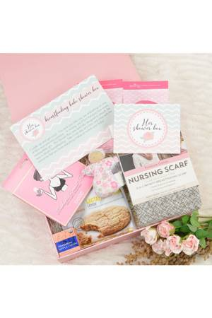 Breastfeeding Babe Shower Box- On-the-Go () by Her Shower Box