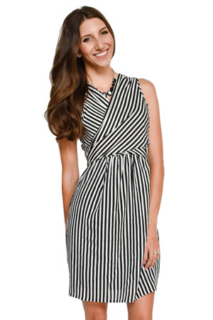 Mel Woven Wrap Nursing Dress by Sophie & Eve