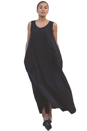 c06969ab52e6 Boob Design Air Long Organic Maternity   Nursing Dress (Black) by Boob  Design