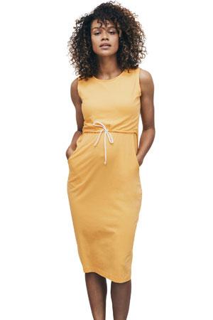 157d06ea8189a Boob Design Naima Organic Maternity & Nursing Dress (Golden Cream) by Boob  Design