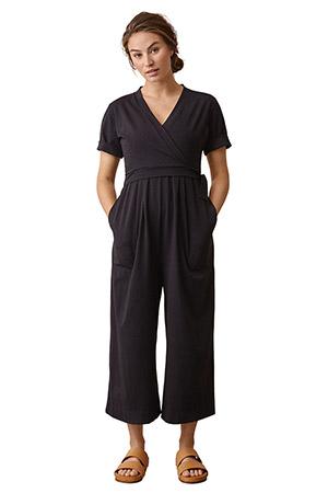 3fc50af2df4 Boob Design Amelia Organic Maternity   Nursing Jumpsuit (Black) by Boob  Design