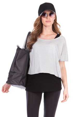 Seraphine Sonya Two-Layer Maternity & Nursing Top by Seraphine