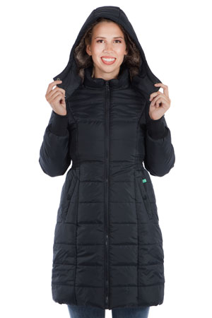 5b54184fc36 Madison 3-in-1 Maternity   Baby Wearing Puffer Coat w Fur Lined