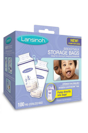 Lansinoh® Breastmilk Storage Bags - 100 count () by Lansinoh