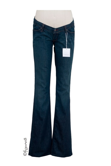 Habitual Knocked Up Maternity Jeans in Half Baked/Deep End