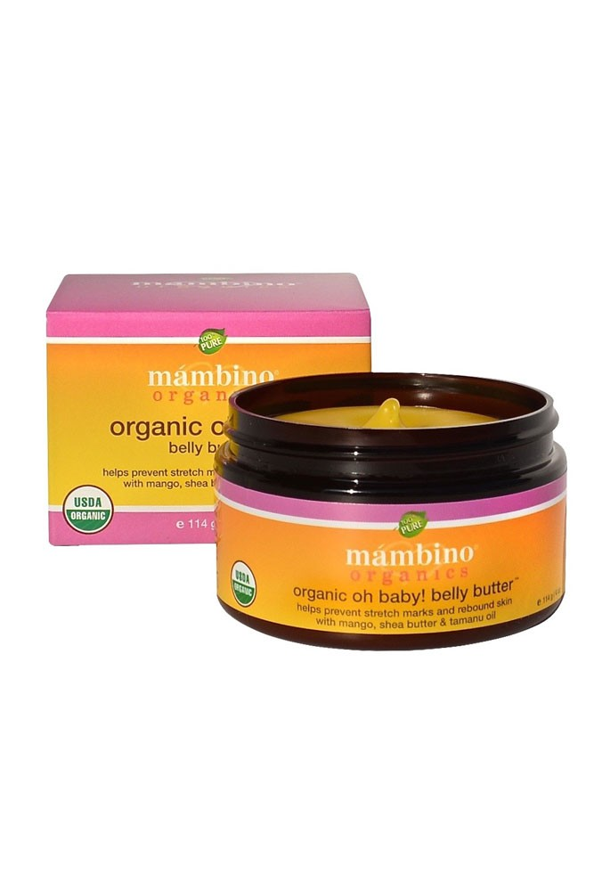 Mambino Organics Oh Baby! Belly Butter 4oz