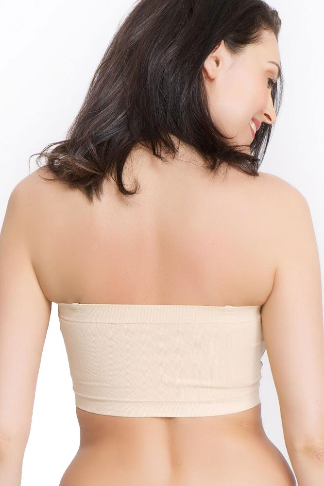 634e0457811d9 La Leche League Seamless Strapless Nursing Bra in Nude by La Leche League  International