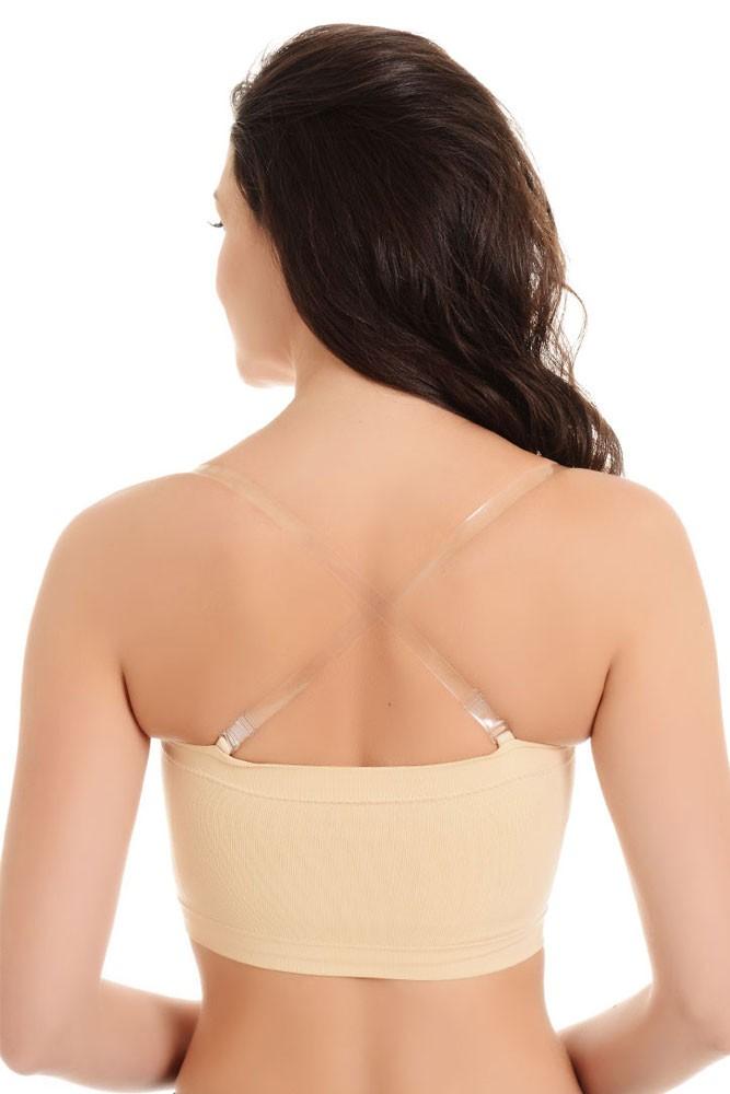 0eae438367b62 La Leche League Seamless Strapless Nursing Bra in Nude by La Leche ...