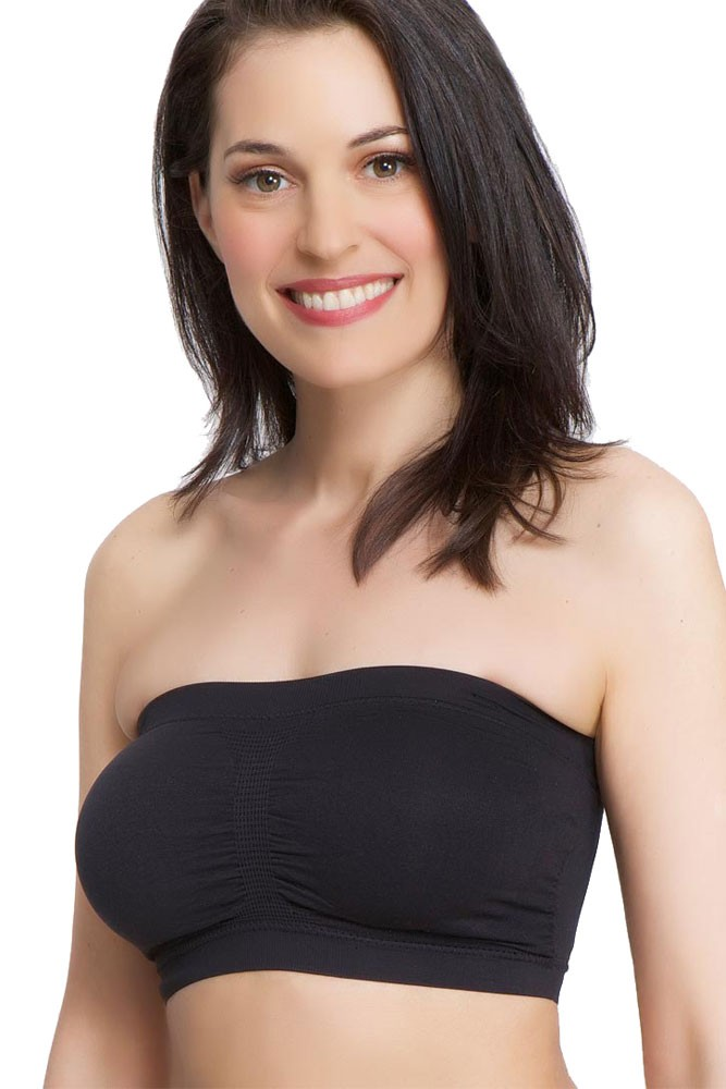 9f27d9737231e La Leche League Seamless Strapless Nursing Bra in Black by La Leche ...