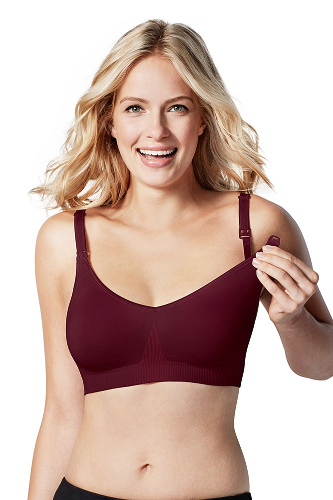 Bravado Designs Body Silk Seamless Nursing Bra (Garnet)
