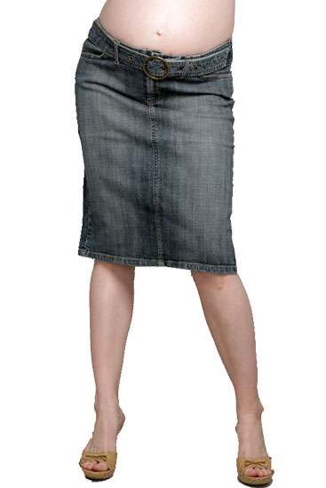 Shop maternity denim skirts at Style J. Find the stylish maternity skirts for work, casual weekend and everyday wear.