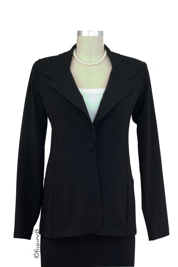 Olian's Career Maternity Jacket (Black)