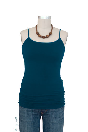 Basic Seamless Maternity Cami (Teal)