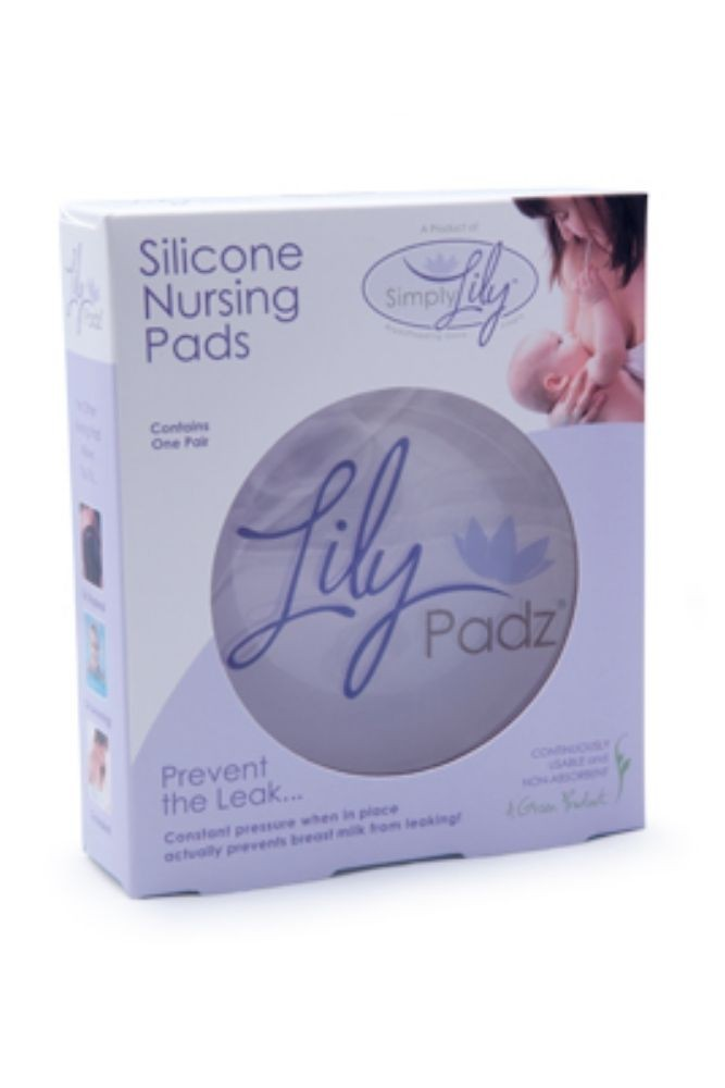 LilyPadz - The Silicone Nursing Pad (Transparent)