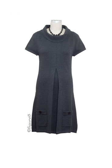 Jacob Maternity Tunic Dress (Charcoal)