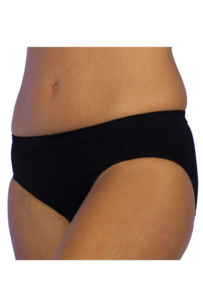 C-Panty Classic Waist C-Section Recovery Underwear (Black)