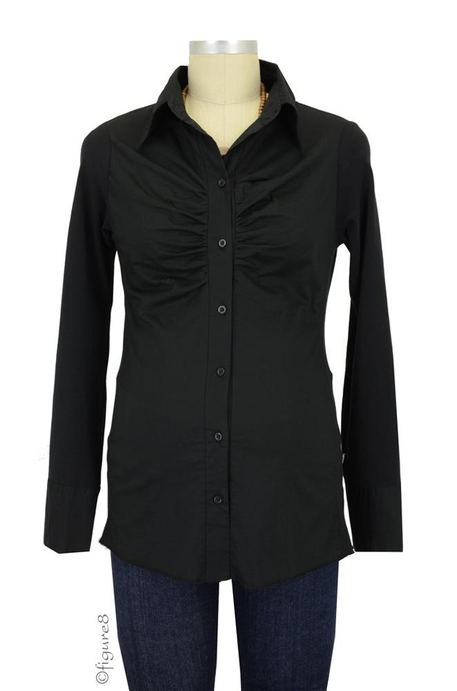Noppies Odessa Maternity Blouse (Black)