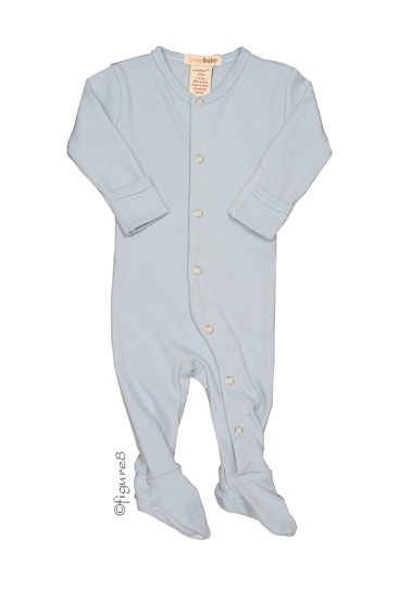 L'ovedbaby Gl'oved-Sleeve Baby Boy Overall (True Blue)