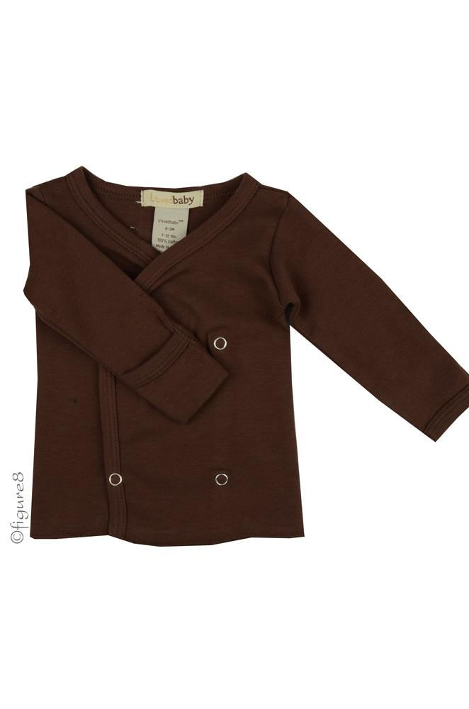 L'ovedbaby Wrap Baby Shirt (Out on the Town Brown)