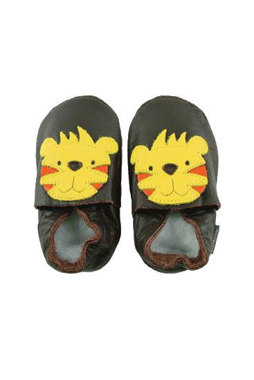 Bobux Original Tiger Baby Shoes (Chocolate Brown)
