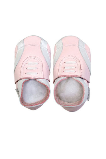 Bobux Baby Sport Shoe (Light Pink)
