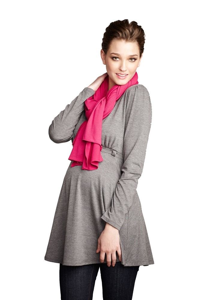 Madison Nursing Scarf (Fall & Winter Weight) (Hot Pink)