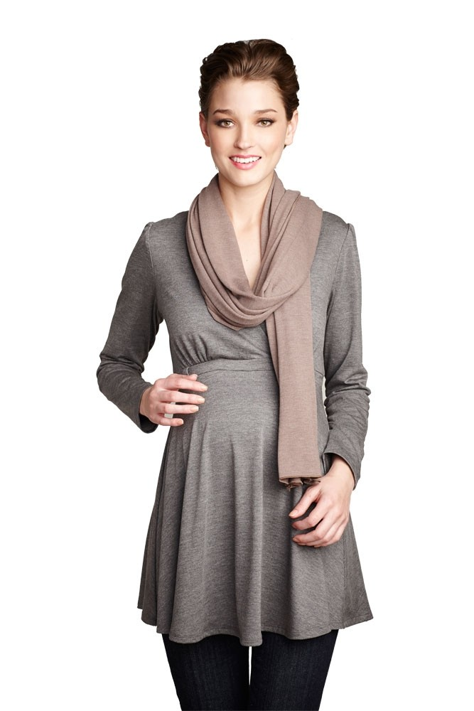 Madison Nursing Scarf (Fall & Winter Weight) (Mocha)