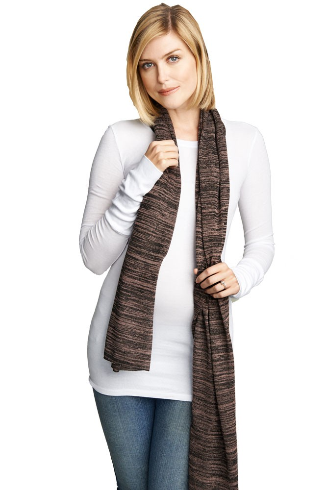 Madison Nursing Scarf (Fall & Winter Weight) (Blush Space Dye)