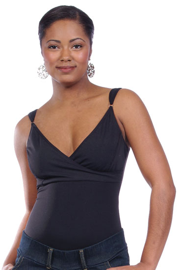 Bodyshaper Nursing Top (Black)