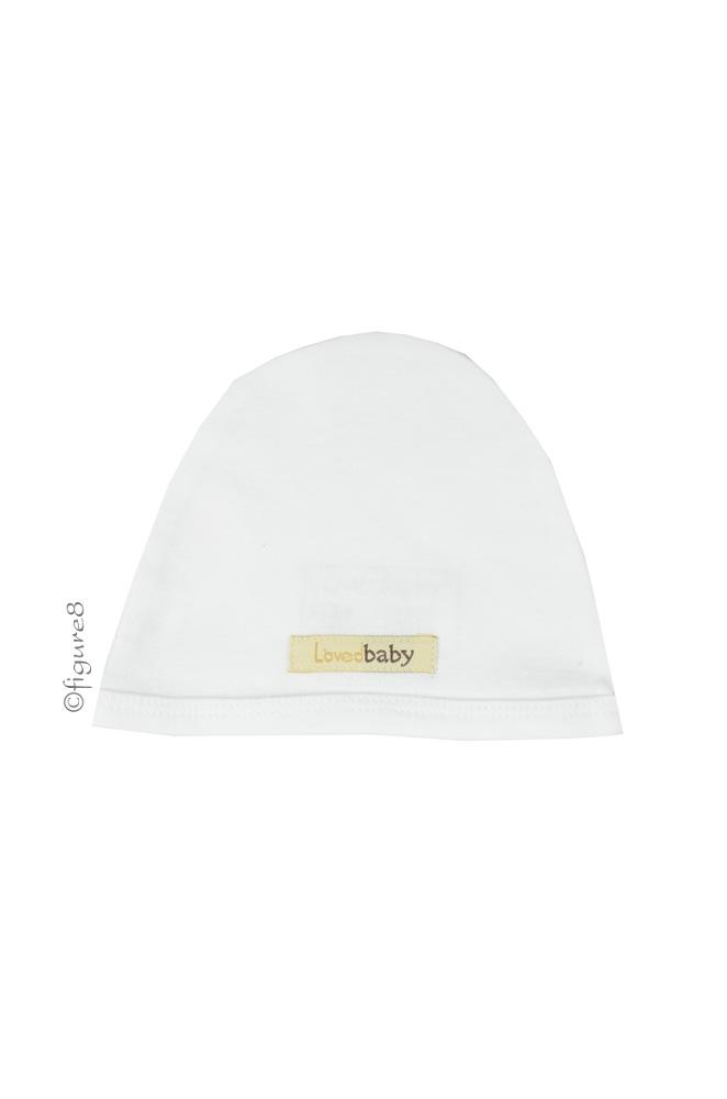 L'ovedbaby Cute Baby Cap (Bright White)