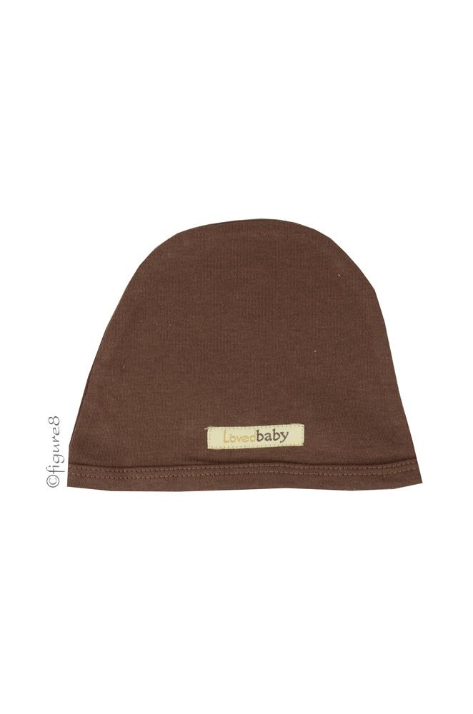 L'ovedbaby Cute Baby  Cap (Out-on-the-Town Brown)
