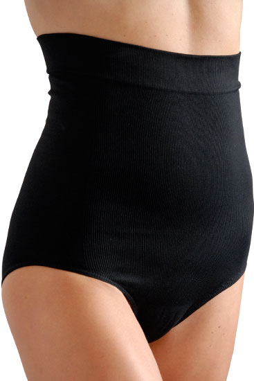 C-Panty High Waist C-Section Recovery Underwear (Black)
