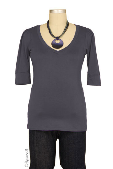 The Michelle Nursing Top (Gray)