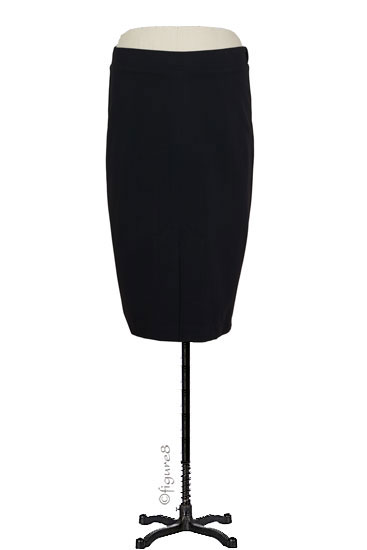 Audrey Maternity Pencil Skirt (Black)