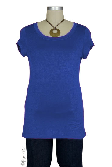 The Jenny Nursing Top (Great with Denim-Blue)