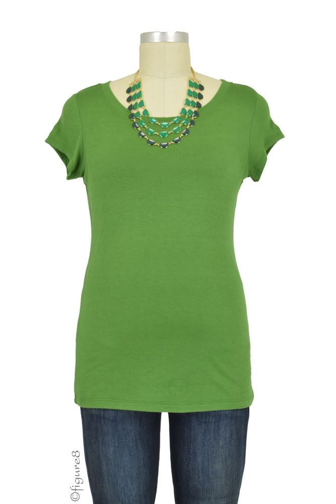 The Jenny Nursing Top (Grass Green)