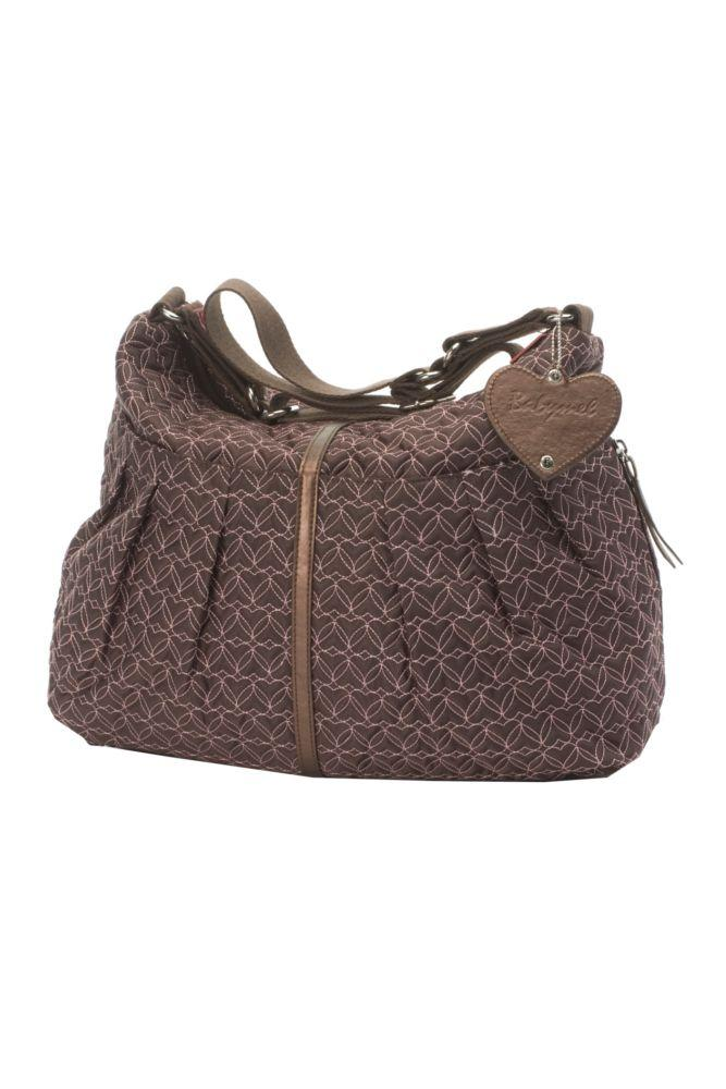 Babymel Amanda Quilted Diaper Bag (Chocolate)