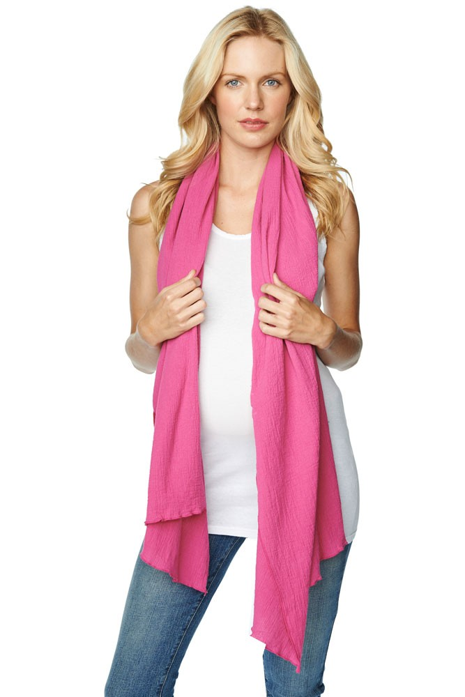 Madison Nursing Scarf for Summer