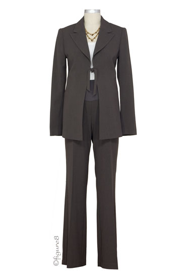 Jules & Jim Perfect Maternity 2-pc. Suit (Chocolate)